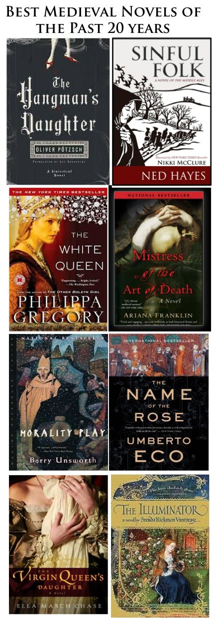 Best Medieval Novels of the Past 20 years -- go to the Middle Ages!