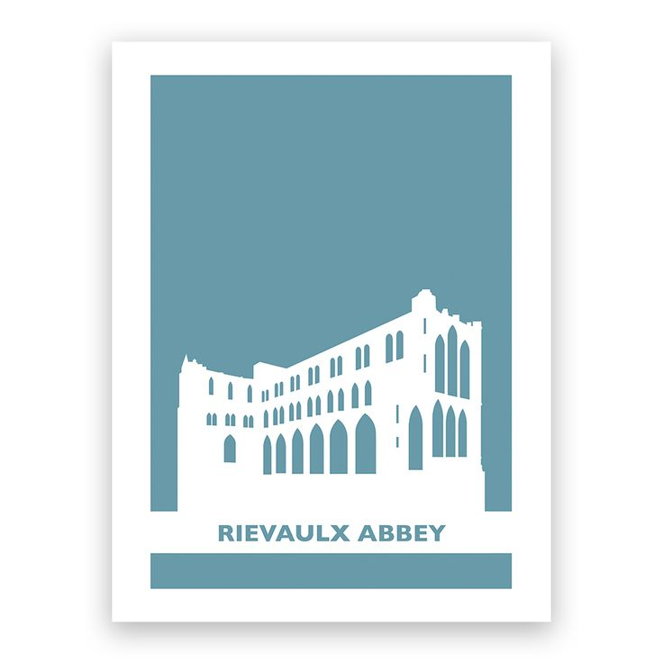 Featuring a design exclusive to English Heritage, this eye catching print adds an imaginative touch to your home. The print features a Modern poster style image of Rievaulx Abbey. A great print to add a pop of colour to a plain wall in your home.