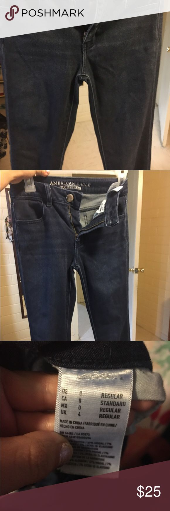 American Eagle woman jeggings Used in good conditions, size 0R American Eagle Outfitters Jeans Skinny