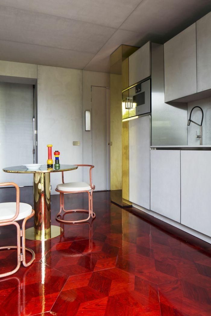 1001 Ideen Zum Thema Welche Farbe Passt Zu Rot Haus Deko Roter Boden Dekor