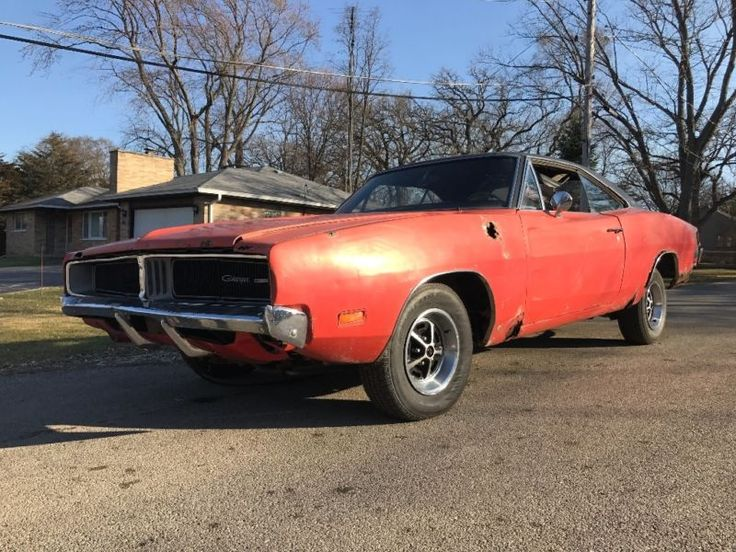 1969 Dodge Charger  1969 Dodge Charger 69 charger Factory RED 4 SPEED Magnum 383 330HP SUPER RARE #ad