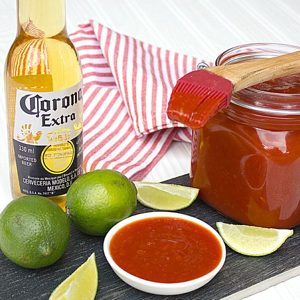 Corona Lime BBQ Sauce (The Black Peppercorn)