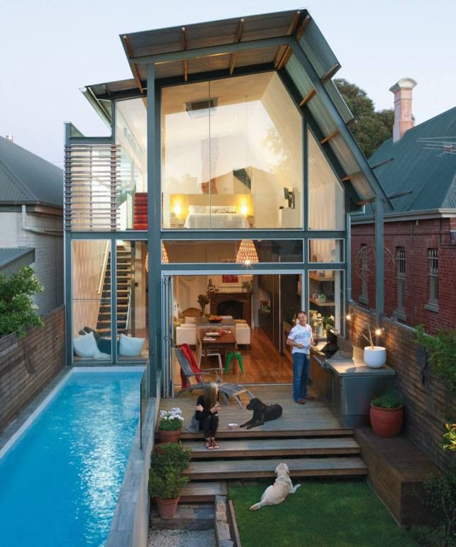 Small Space Pool