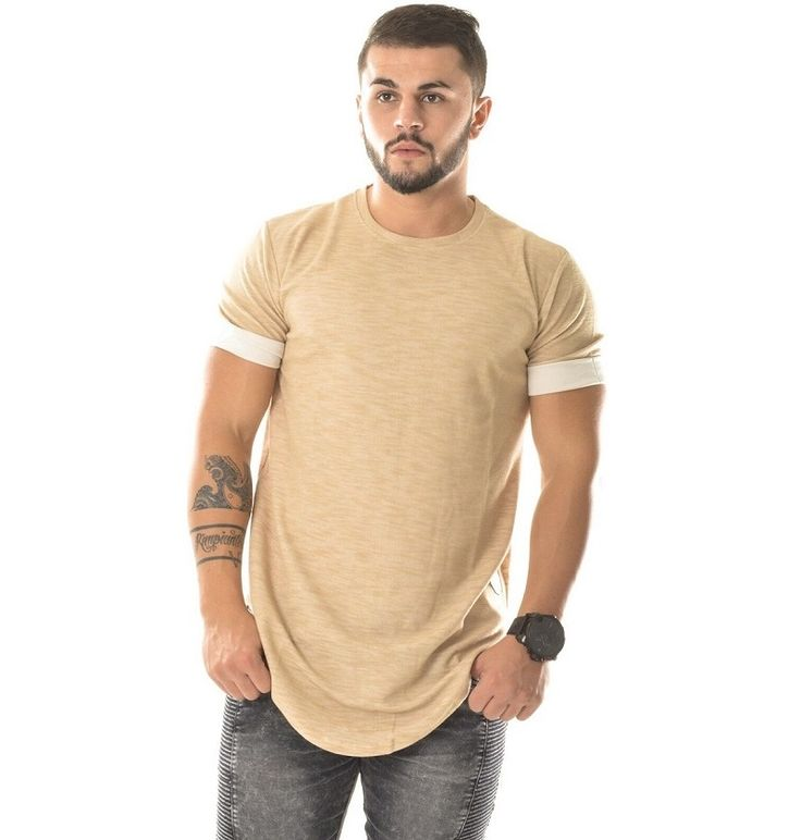 Aliexpress.com : Buy  fashion extra long shirts for men couples matching clothing hiphop clothes kanye west plain blank t shirt curved hem tee from Reliable shirts for men designer suppliers on Big Man Factory Store