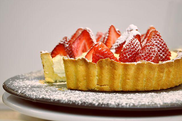 Strawberry tart recipe Fisher & Paykel Social Kitchen