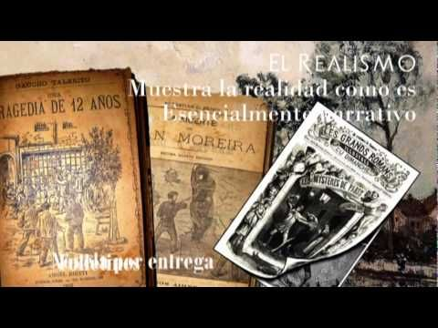 Explanation of the literary genres of realism and naturalism (in Spanish)  #SpanishLiterature #realismo #naturalismo