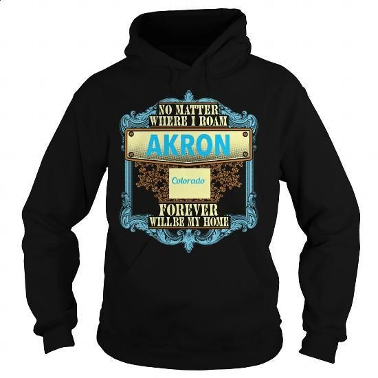 Akron in Colorado - #sweaters #pink hoodies. MORE INFO => https://www.sunfrog.com/States/Akron-in-Colorado-Black-Hoodie.html?60505