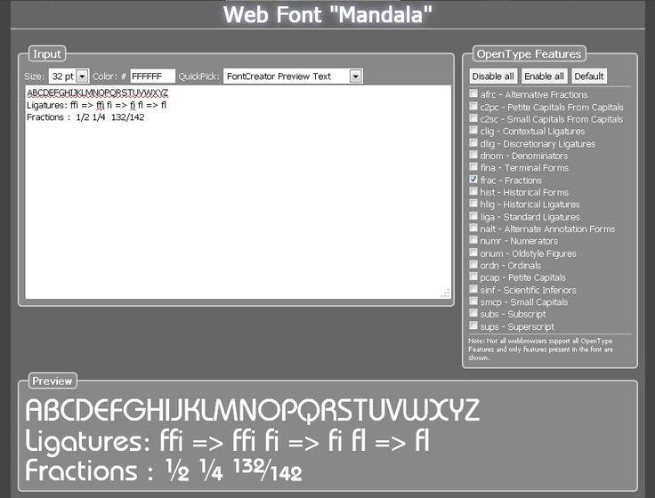 FontCreator - the most popular font editor!