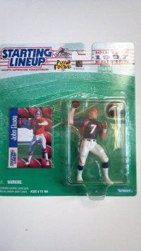 John Elway Denver Broncos NFL Starting Lineup Figures NIB Kenner new in box new in packaging #DenverBroncos #Broncos #JohnElway #Elway #StartingLineup #NFL #ActionFigures #Kenner #MarvelousMarvs