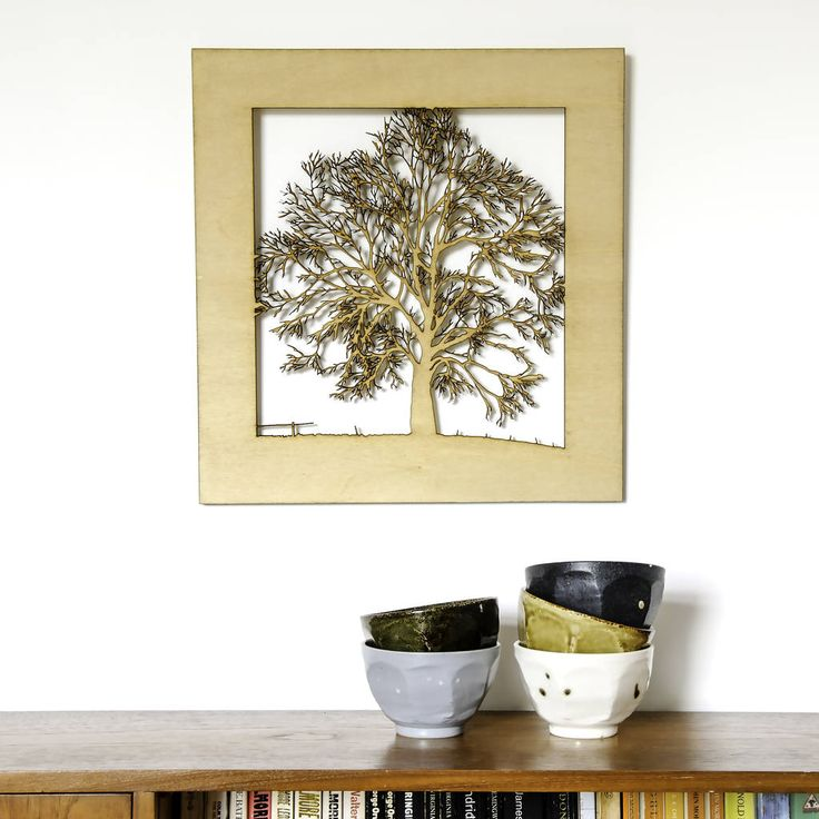 A spectacular woodcut Oak Tree picture design, created from an original photograph. Comes with a free gift box.The product is available in a range of wood stain or painted options including Light Pine, Light Rosewood, Dark Oak, Red Mahogany, White, Celestial Blue and Marine Blue. The picture can be produced in bespoke colours, using paints from the Little Green range The scene can be personalised with messages on the front or rear of the scene A tree with swing design is also available from…