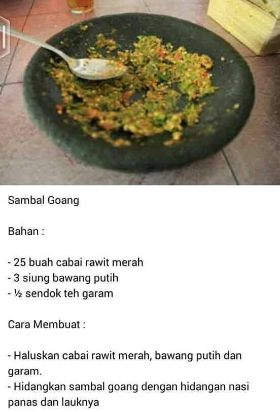 Sambal Goang