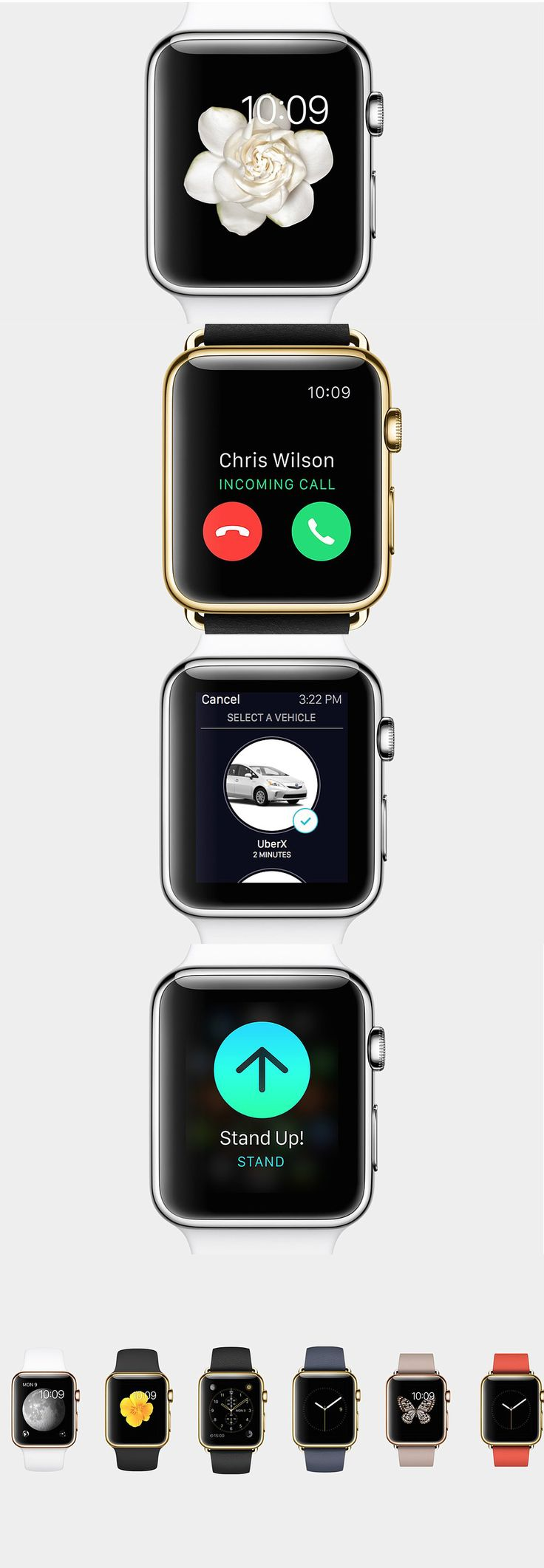 Here are 14 of the amazing things the new Apple Watch can do - Released in the UK 24th April...x