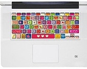 Heart Keyboard Cover