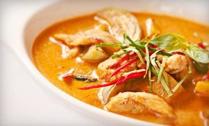Groupon - Thai Food at Papaya Thai (Half Off). Two Options Available. in Newark. Groupon deal price: $15