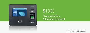 zk s100 fingerprint attendance system...