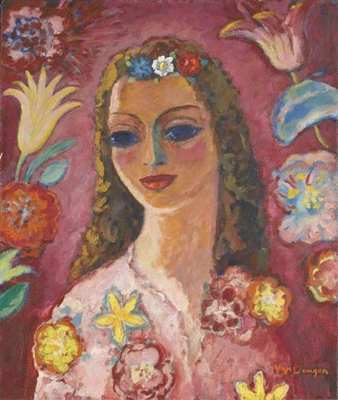 Kees van Dongen, Femme aux fleurs