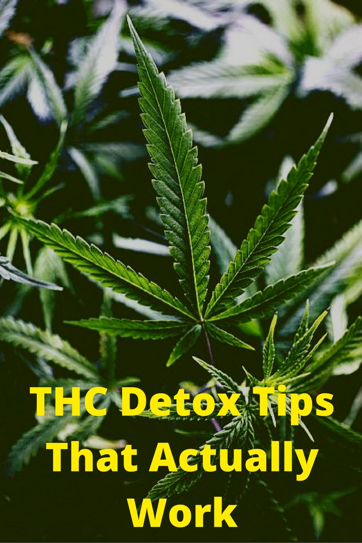 natural marijuana detox tips