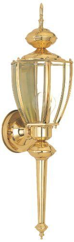Sea Gull Lighting 8578-02 Classic Outdoor Wall Sconce, Polished Solid Brass by Sea Gull Lighting. Save 31 Off!. $121.97. 8578-02 is a single light classic wall lantern and is part of the Society Hill collection.