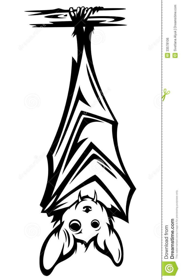 Image Result For Upside Down Bat Silhouette Halloween Drawings