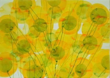 """Saatchi Art Artist Jitka Anlaufova; Painting, """"Sunflowers Field"""" #art"""
