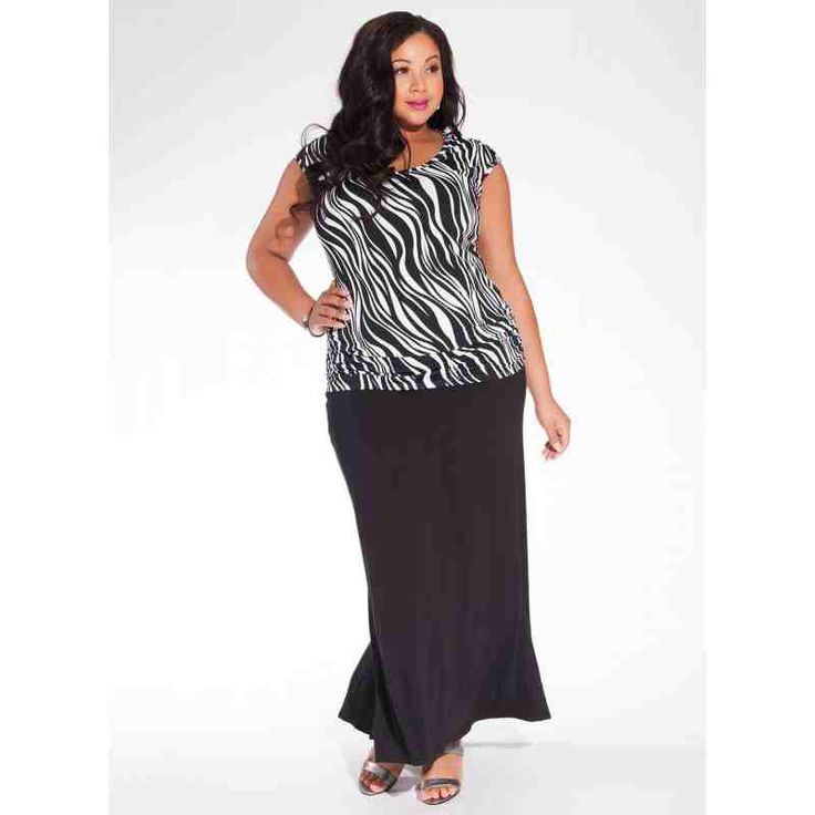 PRE-ORDER - Becky Tank Plus Size Top in Zebra $62.00 http://www.curvyclothing.com.au/index.php?route=product/product&path=95_96&product_id=8537