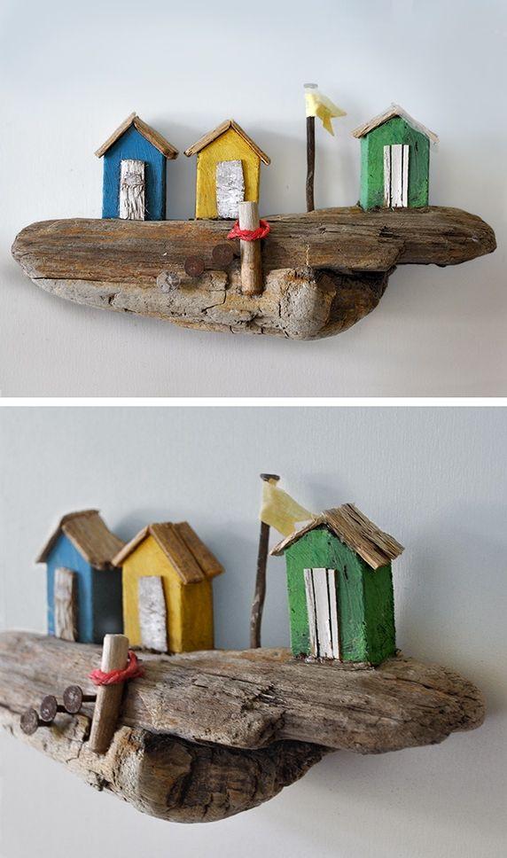 Christine Grandt - Treibholzkunst maritime Geschenke, Treibholz - designer holzmobel skulptur