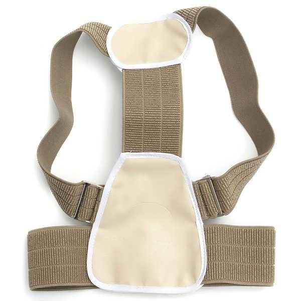 Description : Child Therapy Posture Corrector Adjustable Body Belt Brace Shoulder Support This adjustable posture corrector is designed to for children, bad posture can be corrected by changing the bad posture of walking sit, wearing on the posture corrector, can support the maintenance of...