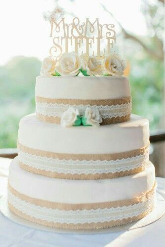 Wedding / Hochzeit | Torte  Vintage Spitze