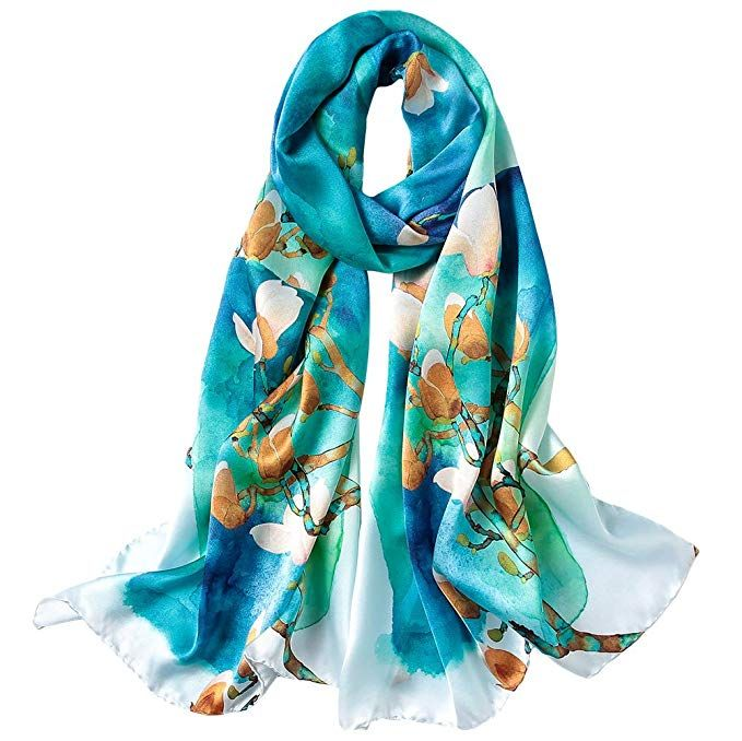 Story Of Shanghai Womens 100 Mulberry Silk Head Scarf For Hair Ladies Satin Scarf Gift For Valentine S Day Silk Scarf Style Shawls And Wraps Womens Scarves