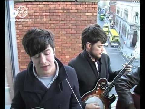 Repinning just cause I love it so much!! Mumford And Sons, when they were young and still shy <3. Via Balcony TV