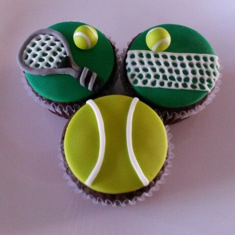 Best 25+ Tennis cupcakes ideas on Pinterest World team tennis - why is there fuzz on a tennis ball