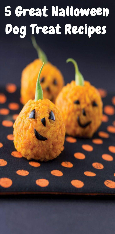 5 Great Halloween Dog Treat Recipes Vegan Halloween Food Healthy Halloween Snacks Vegan Halloween Treat