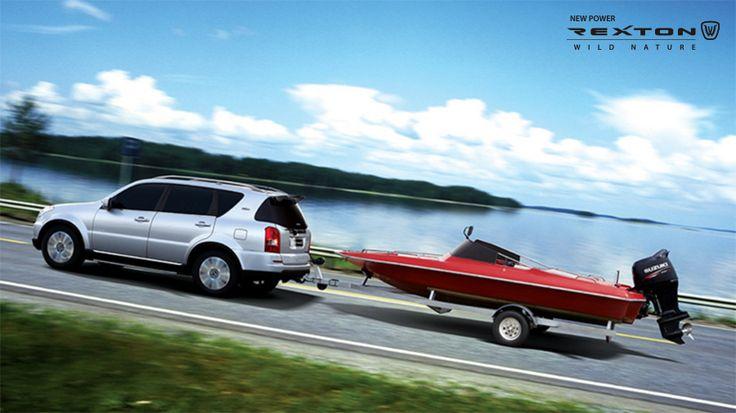 이 더위의 마지막을 렉스턴W 와 함께 만끽하라! Wild Nature Rexton W  https://goo.gl/Z2bJjH  #쌍용자동차 #ssangyong #렉스턴W #RextonW #바다 #보트