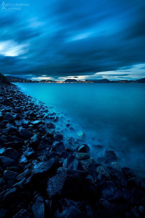 Blue night by AL-AMMAR