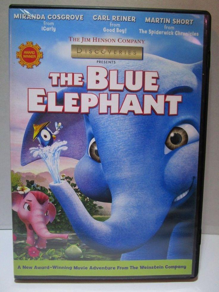 The Blue Elephant (DVD, 2008) Jim Henson Co. Animated