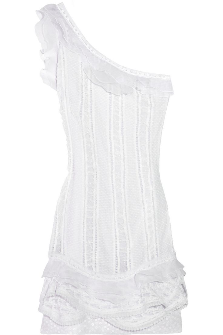 ISABEL MARANT Quimper silk-trimmed cotton-voile mini dress $500.50 http://www.theoutnet.com/products/531159