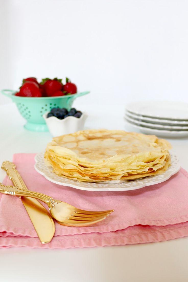 Lindsay Ann Bakes: {VIDEO} Easy Pancake Mix Crêpes (Classic, Savory & Sweet)