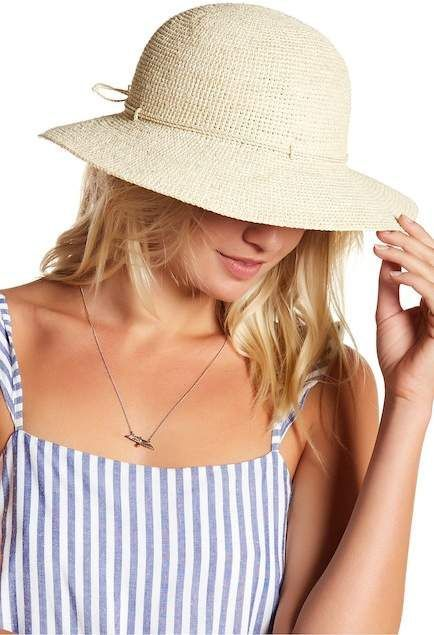NORDSTROM RACK - Helen Kaminski Caicos Hat The perfect sun hat! My favorite  style.  ad  sunhat  rafia 751ff258820