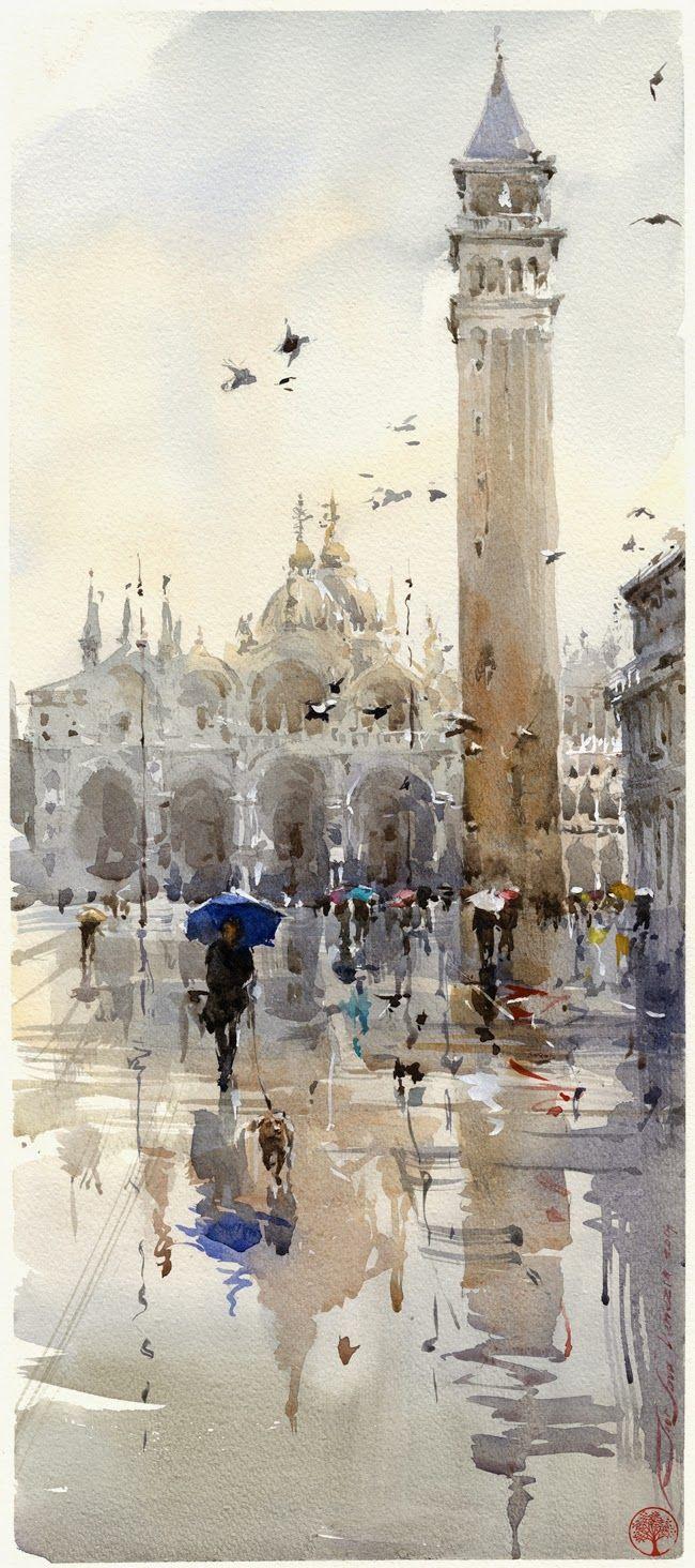 Venecia. Plaza de San Marcos.