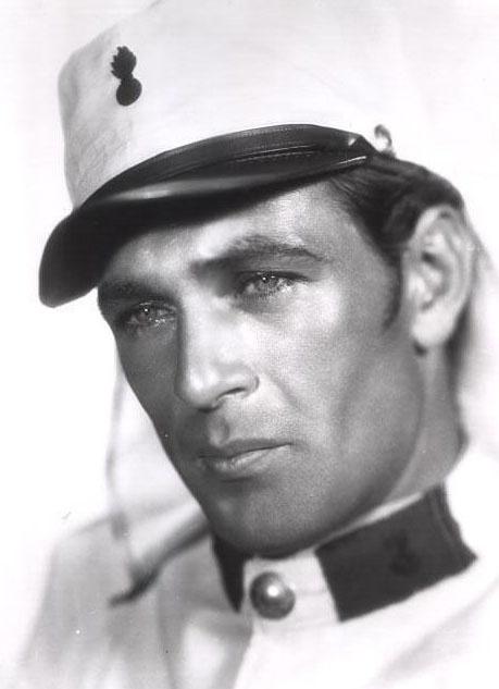 "Gary Cooper in ""Beau Geste"" (1939)"