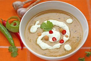 Spicy soup of chickpeas - http://bit.ly/1P7BMhy