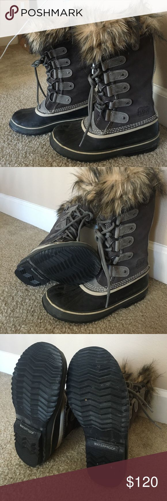 Sorel Boots Like new sorel boots. Joan of arctic style. Worn once last year, haven't worn this year. Sorel Shoes Winter & Rain Boots