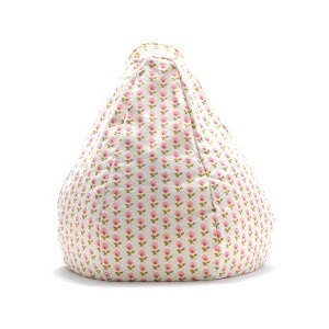 Lale Theo Naive Beanbag- with a handle to carry from room to room:)
