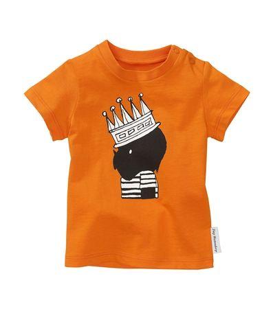 Ook aan de #kinderen heeft #Hema gedacht deze #koningsdag! Vinden jullie dit #shirtje ook niet #schattig?