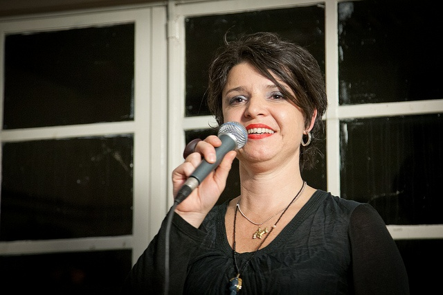 Maria Mazarakis organisator van het InspiratiePodium Arnhem #11