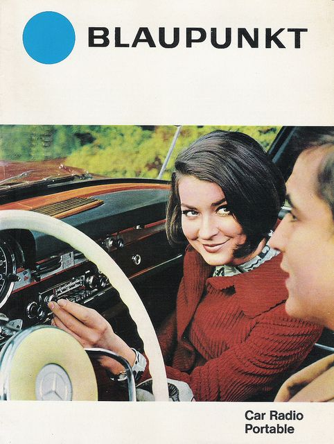 Vintage In-Car Entertainment Adverts