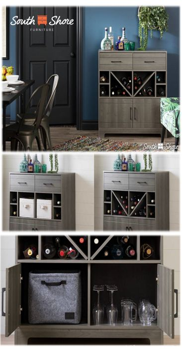 79 best Bar cabinets and cellars images on Pinterest | Bar ...