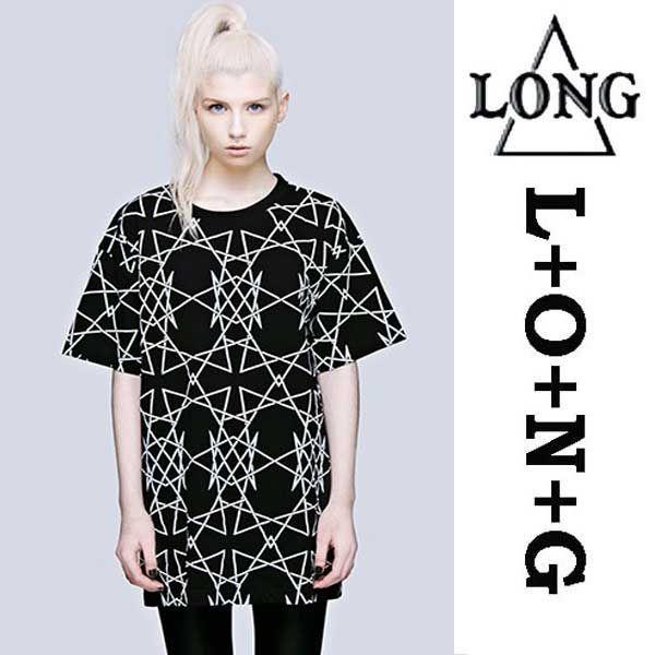 【楽天市場】LONG CLOTHING【ロングクロージング】グラフィック総柄Tシャツロック パンク ロックtシャツ ユニセックス BOY LONDON ボーイロンドン (トップス メンズ レディース ビッグtシャツ バンドtシャツ)ロックシャツ パンクロック 服 おしゃれ 春物 春服):ロックスタイルWAD+JellyBeans-