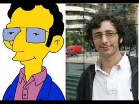 igualitos a los simpsons¡¡¡ mira y disfruta¡ identical characters from the simpsons people - YouTube