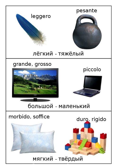 Italian Opposites